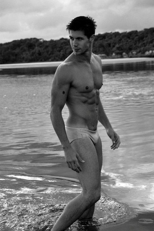 hot naked men on beach