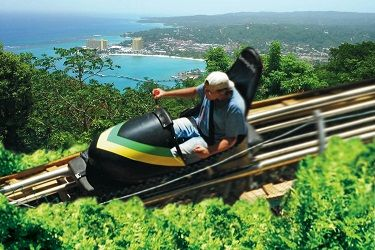 Mystic Mountain Jamaica Bobsled, Canopy Zip Line, & Sky Explorer tours