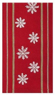 Let It Snow Dishtowel - eclectic - dishtowels - Crate&Barrel