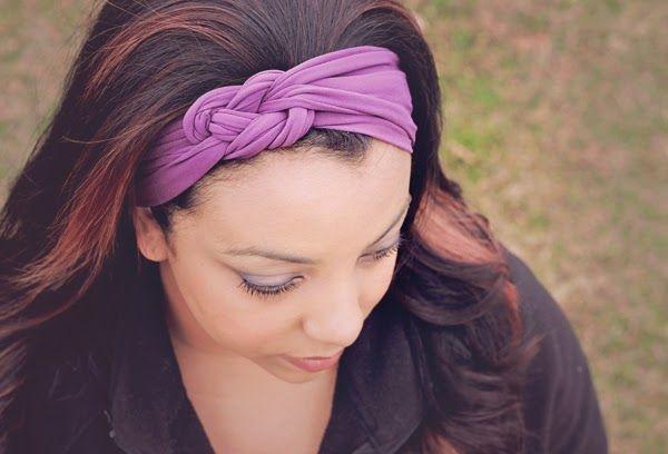 DIY Knot Headband - free tutorial/pattern