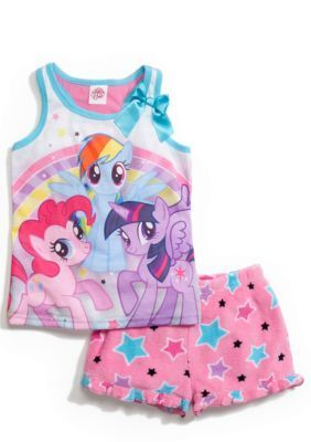 My Little Pony   2-Piece My Little Pony Pajama Set Girls 4-8
