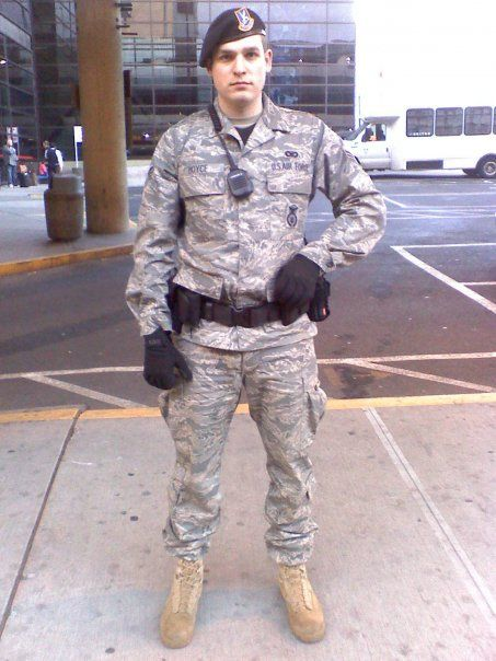 Security escort training air force