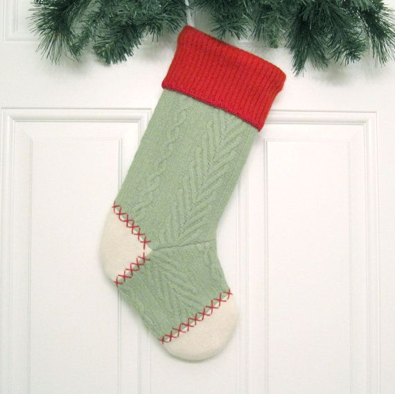 Customized Christmas Stocking Personalized Holiday by mmwolters