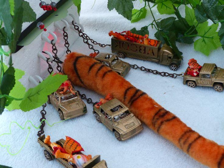 Tiger Trolley detail 2013/ Merryl Key