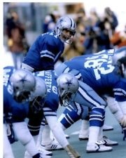 Danny White (QB) in the old Cowboys blue uniform.