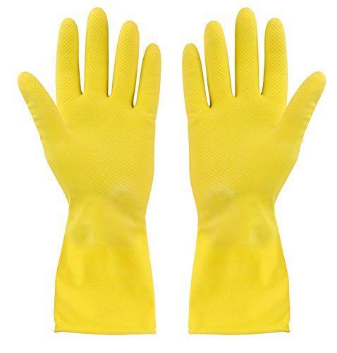 Elliott Extra-Large Rubber Gloves, Yellow