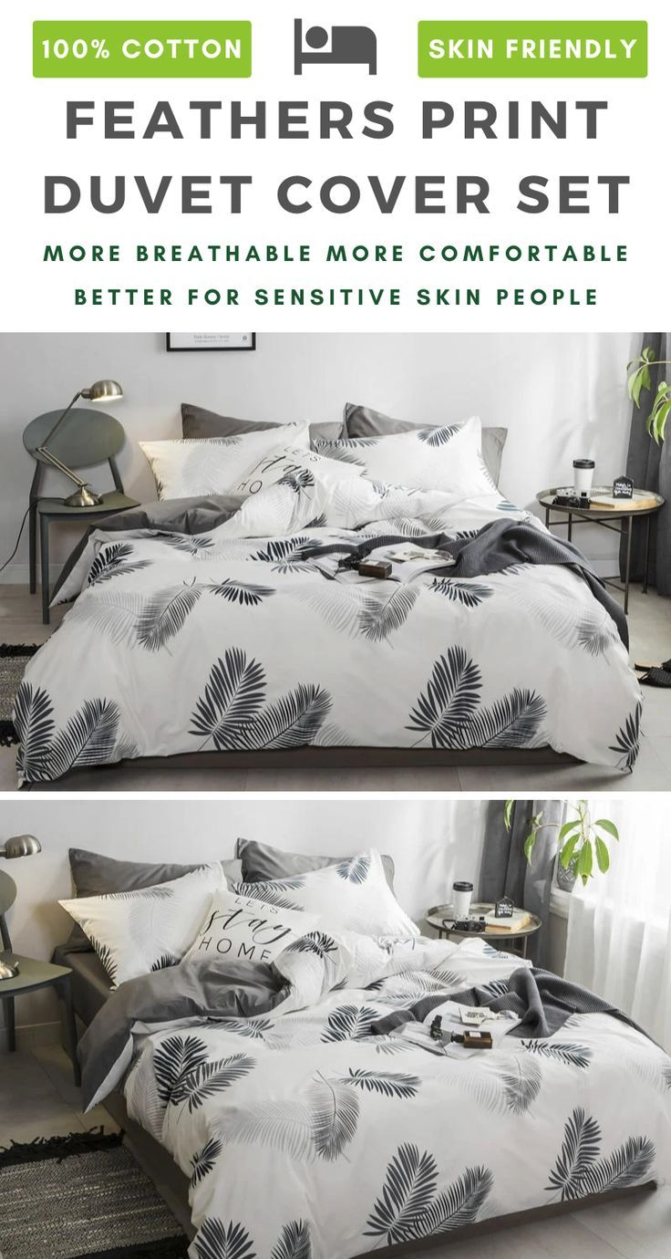 White Feathers 100 Cotton Bedding Sets Bedding Sets Cotton Bedding Sets Cotton Bedding