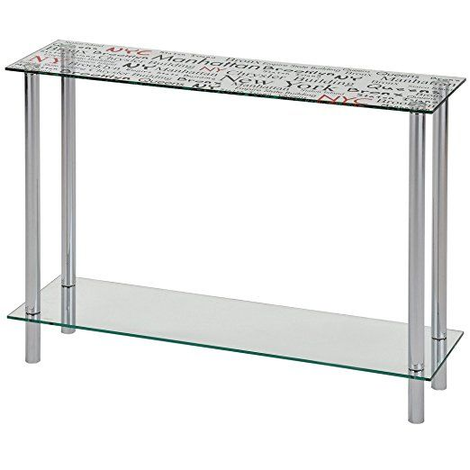 Soho Console Table (Chrome)