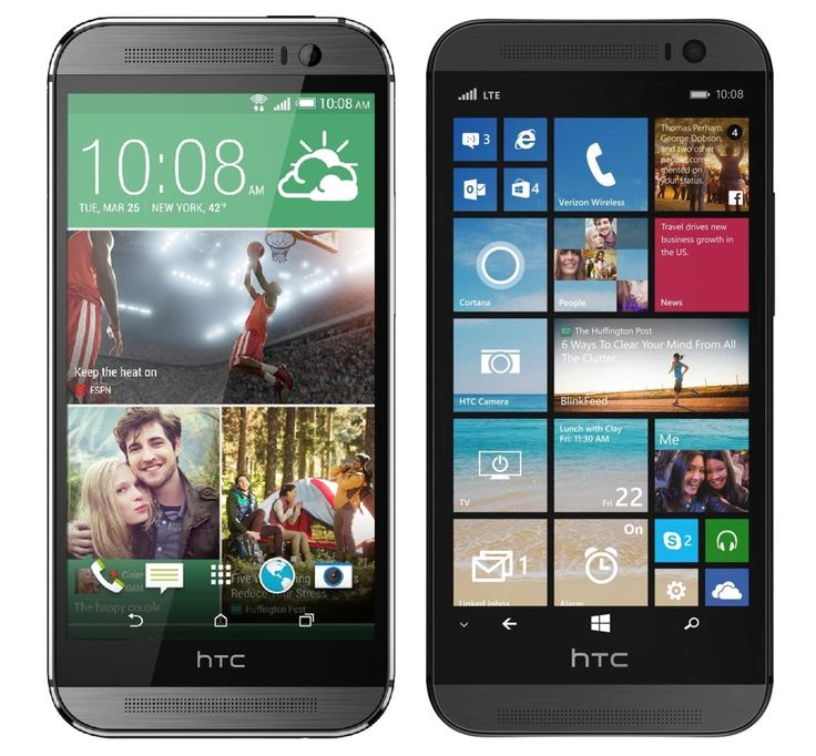 htc one windows phone | ... you prefer an HTC One (M8) running Android, or Windows Phone 8.1