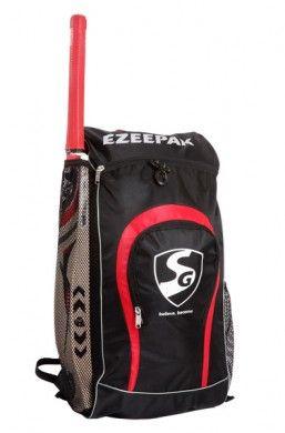 SG Ezee Pak Cricket Kit Bag, Large Size Backpack   Buy Online, Cricket Shop India   Price, Photos, Detailed Features   Cricket Kit Bags