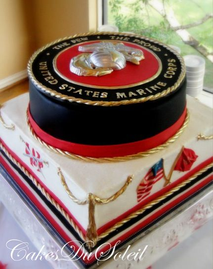 Royal Marines Wedding Cake Toppers