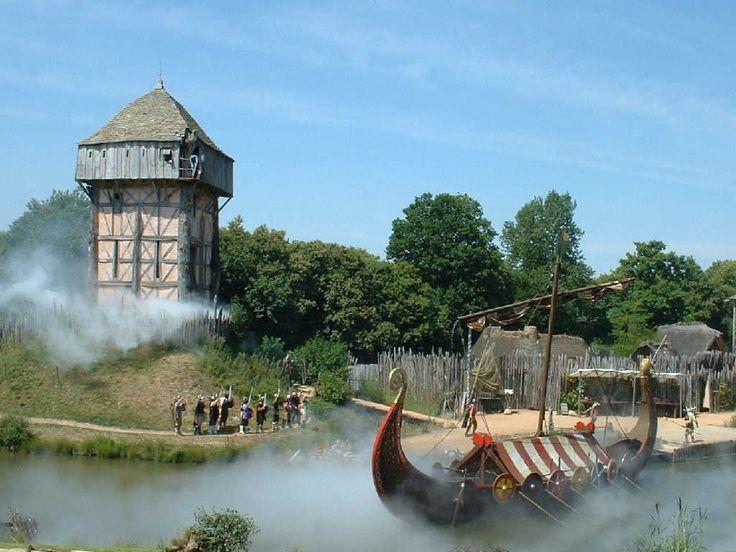 Le parc du Puy du Fou, les Normands. Les Epesses. Pays-de-la-Loire