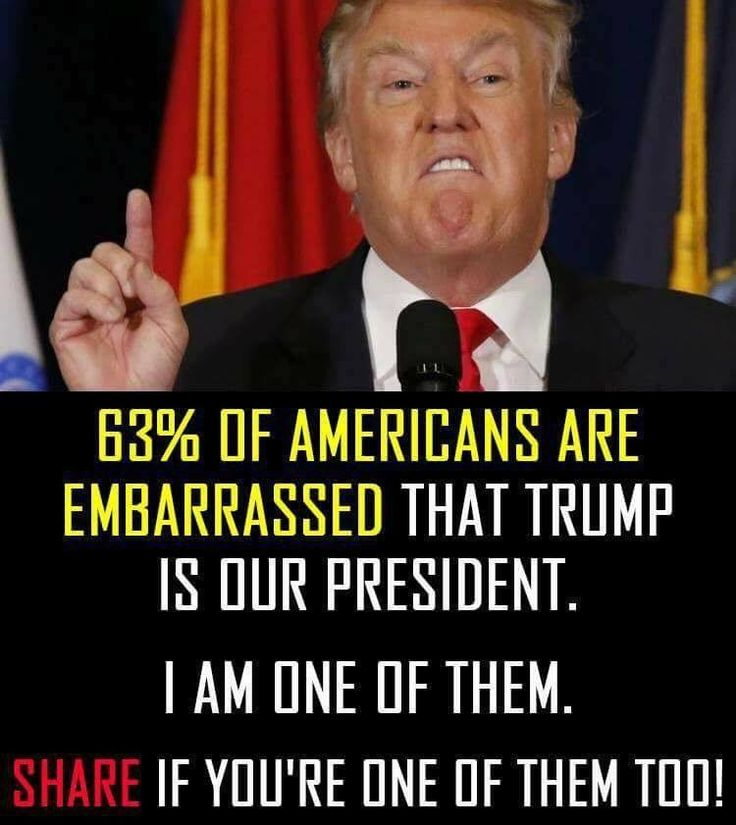Daily!! Sorry world!! The majority of Americans agree with you!!