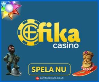 Fika Casino is a Swedish online casino that's powered by Nektan's white label solution. More this way...