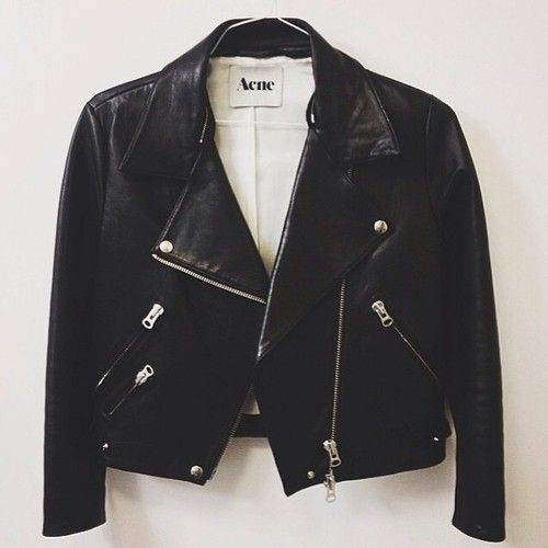 ACNE LEATHER