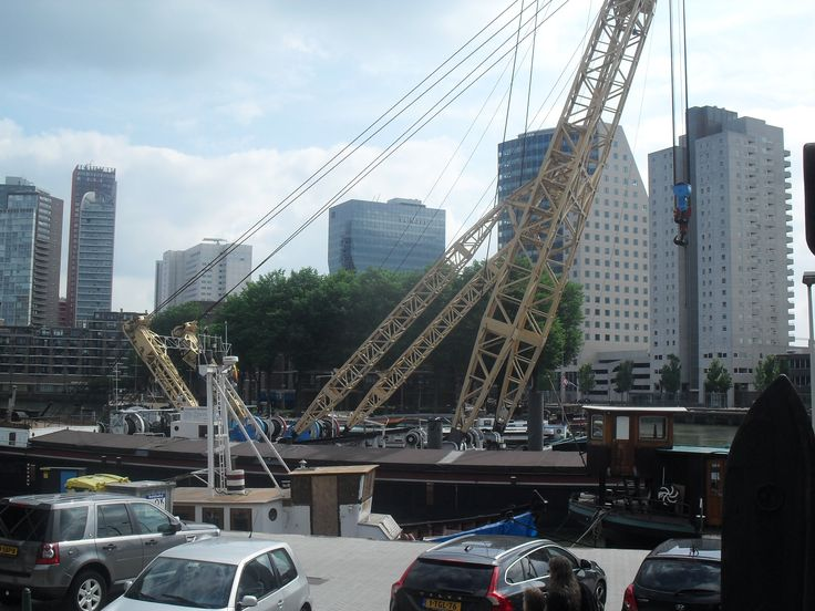 Docks in Rotterdam