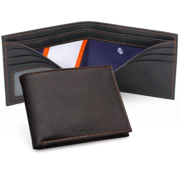 Denver Broncos Tokens & Icons Game-Used Uniform Leather Wallet - $160.00