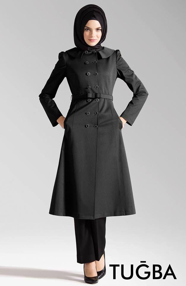 C216 #Tuğba #Pardesü Siyah rengi ile Tugbaonline.com'da satışta, Siyahın zarafeti sportif detaylar ile #C216 Modelinde sizlerle  http://www.tugbaonline.com/urun_izle.aspx?md=1483