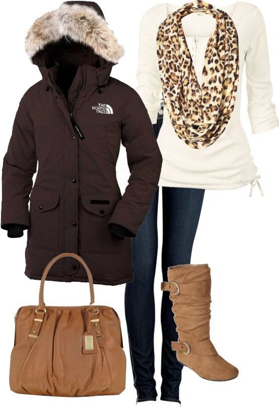 North face winter coats women