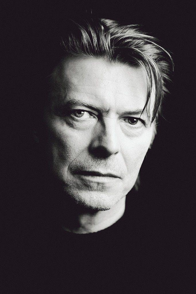 David Bowie 4 English Rock Star Music Legend Icon Songwriter Poster Portrait B/&W
