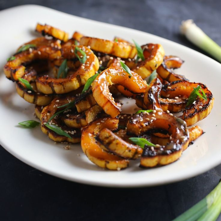Delicata Squash with Miso-Maple Butter
