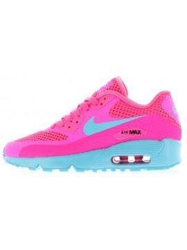 Adidasi Nike Air Max dama roz cu talpa bleu
