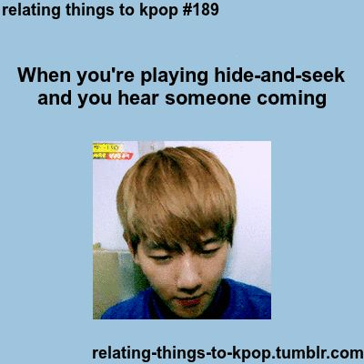 Or......when you're home alone after watching a scary movie and you hear a noise.