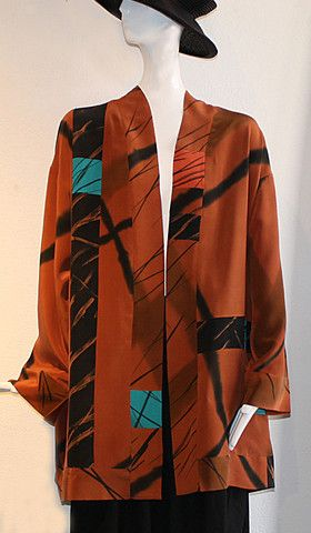Alexis Abrams - Pieced Silk Coat