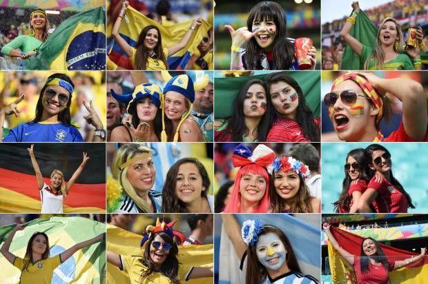 Gairah Suporter Unik di Piala Dunia 2014