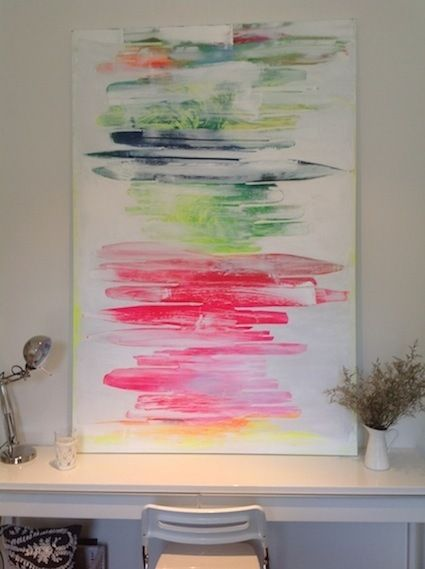 Kerry Armstrong is the newest artist at Mood Home Brighton, using lots of different mediums including latex, Kerry's paintings are really unique, come on down and have a look120cm x 180cm this one has sold, but similar can be ordered