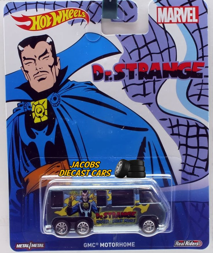 2016 Hw Hot Wheels Pop Culture Marvel Gmc Motorhome Dr