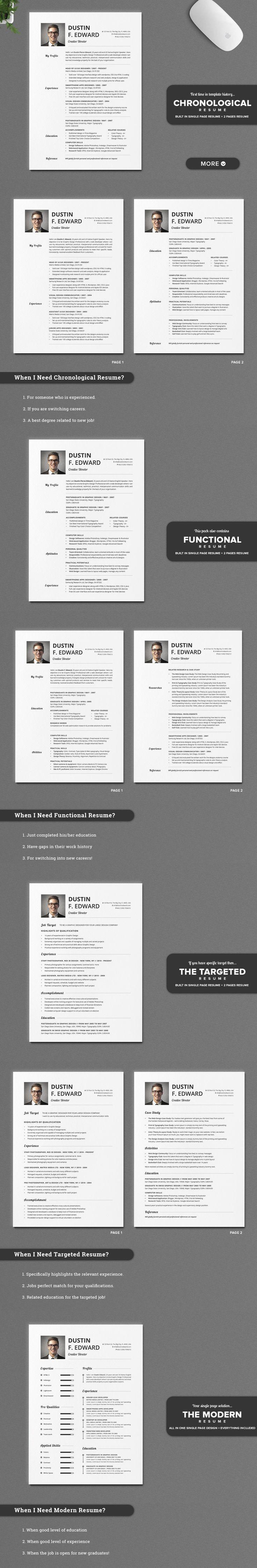 16 Best Resume Images On Pinterest Resume Templates