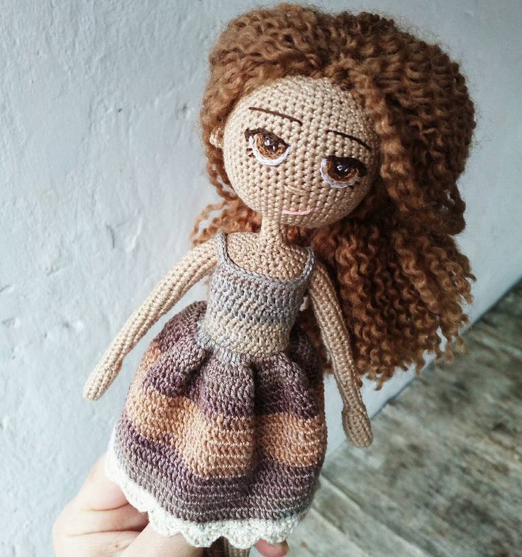 Amigurumi Hair Curly : 1166 best images about Crochet Dolls on Pinterest Girl ...