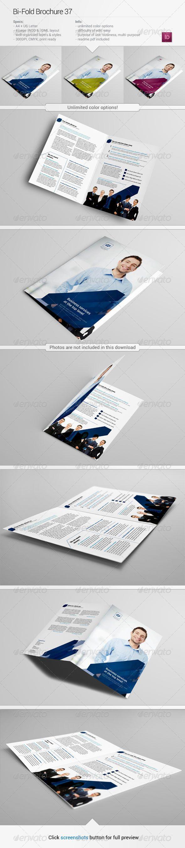 Template Formal Letter%0A BiFold Brochure