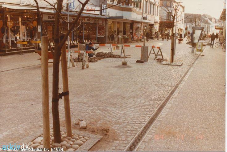 arkiv.dk   Gågaden i Danmarksgade Frederikshavn 1984