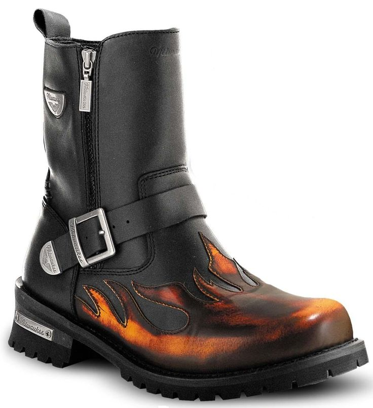 Harley Davidson Flame Boots Select Your Size Size 8 Size