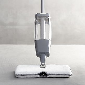 Casabella® Grey Quick Scrub Spray Mop I Crate and Barrel