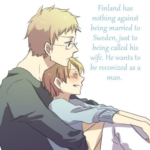 Still makes for great stories when Finland is Sweden's wife.
