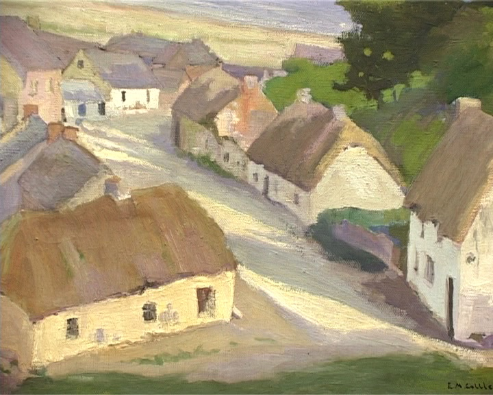 Edith Collier, Village by the Sea