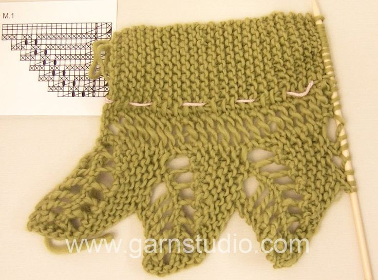 DROPS Crocheting Tutorial: How to work after chart M.1 in 118-16