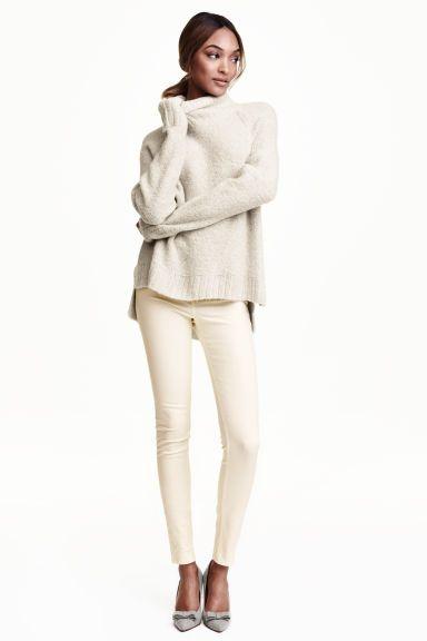 Pantaloni cu talie înaltă   H&M