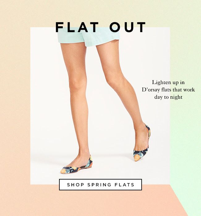 Shop Loeffler Randall Spring Flats At The Official LR Store www.LoefflerRandall.com #Email Design #Newsletter