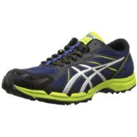 ASICS Men's Gel Fuji Racer 3 Trail Running Shoe,Navy/Silver/Lime Punch,11 M US $109.27 #ASICS