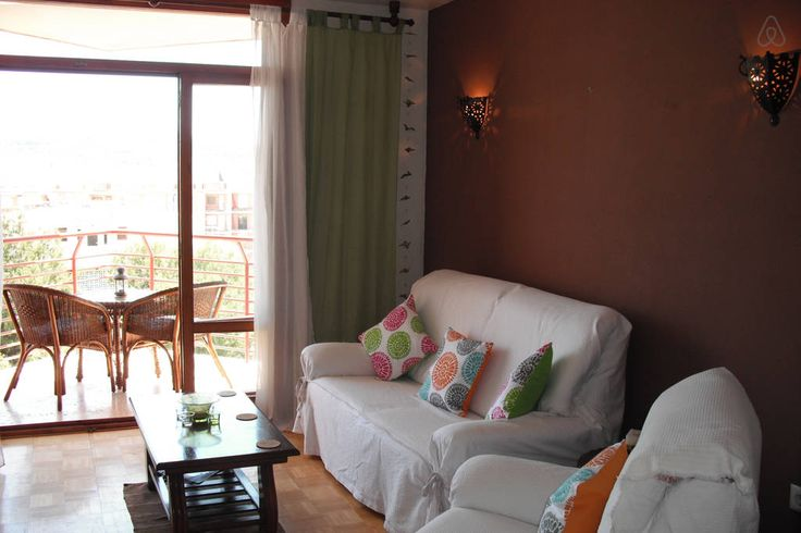 Lounge with double sofa bed, balcony, TV, stereo, Playstation2