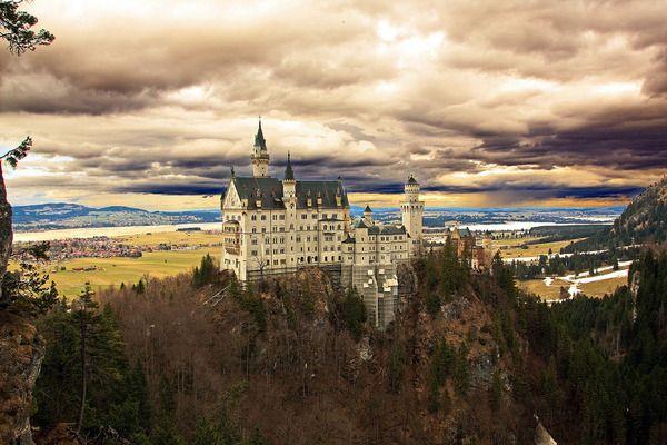 Kasteel Neuschwanstein, Bavaria, Duitsland Sprookjesachtige bestemmingen - Watzijzegt.com