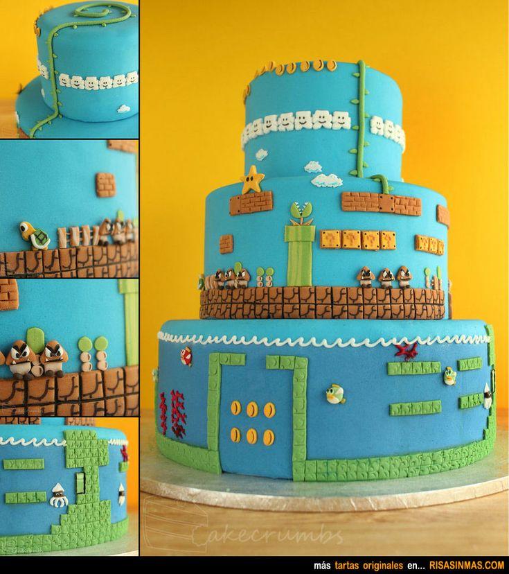 Tartas originales: Super Mario Bros.