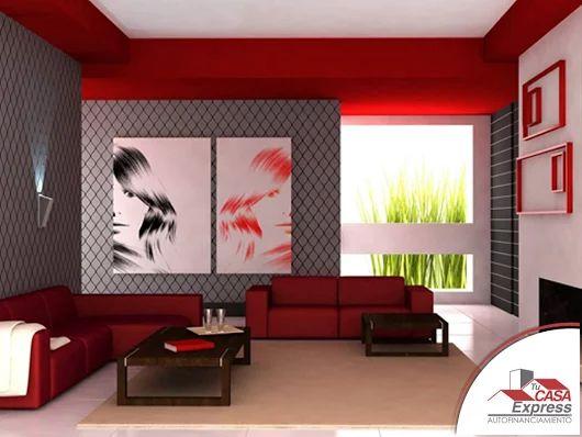 Se atrevida y ocupa color rojo en tu decoración resalta mucho en las habitaciones y además aporta energía en las mismas. El comprar casa no afecte tus buenos momentos.