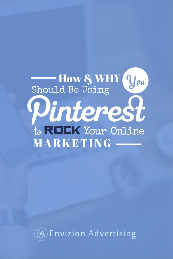 Set up your profile on Pinterest to leverage search engine optimization for your brand and marketing online. Repurpose your content that you have already worked so hard to create, so that you don't have to spend hours upon hours each week to be social online! http://envizionadvertising.com/pinterestwebinar