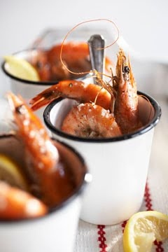 I love the photos on this blog. Shrimp anyone?