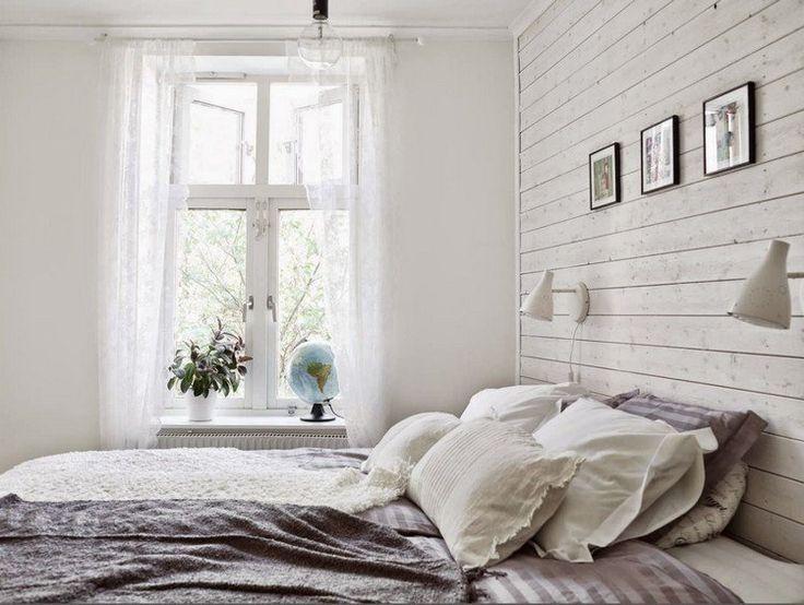 Les 25 meilleures id es de la cat gorie lambris blanc sur pinterest chambre lambris d cor de for Peindre une chambre adulte